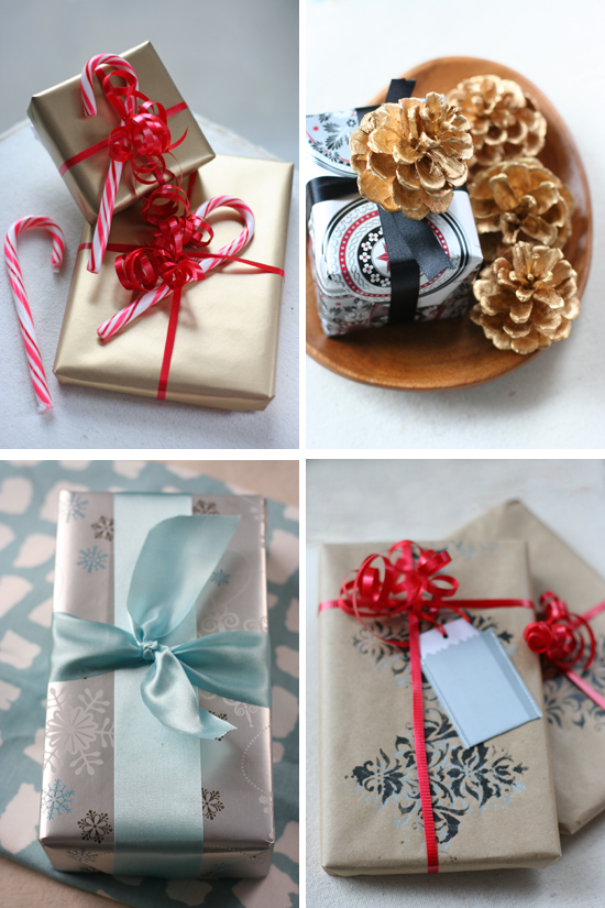 Gift Wrapping Ideas Chocolate Shavings