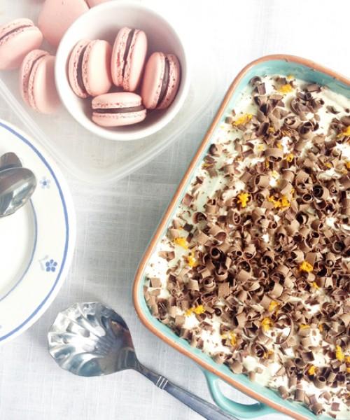 Chocolate and Grand Marnier Tiramisu